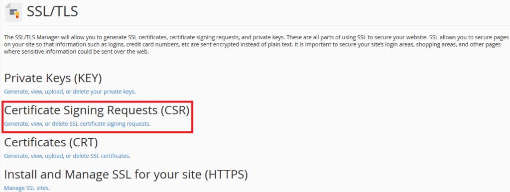 SSL certificate installation 2