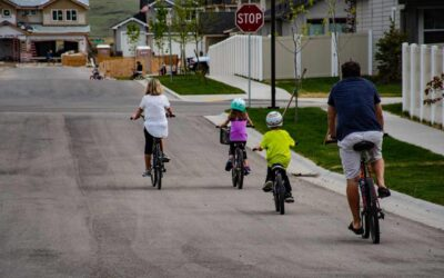 The Bike To School Week And Benefits Of Cycling For Children